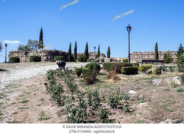 Castillo viejo de Manzanares el Real. Madrid. España