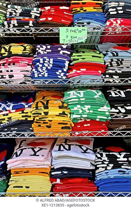 shirts, New York, USA