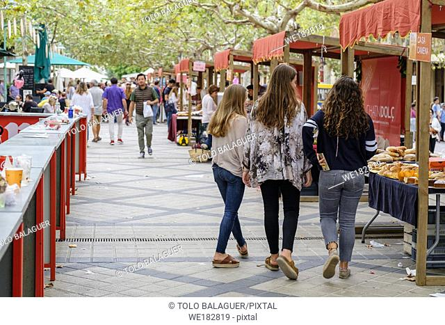 Fira Dolça, feria de dulces y reposteria, Esporles, Mallorca, balearic islands, Spain