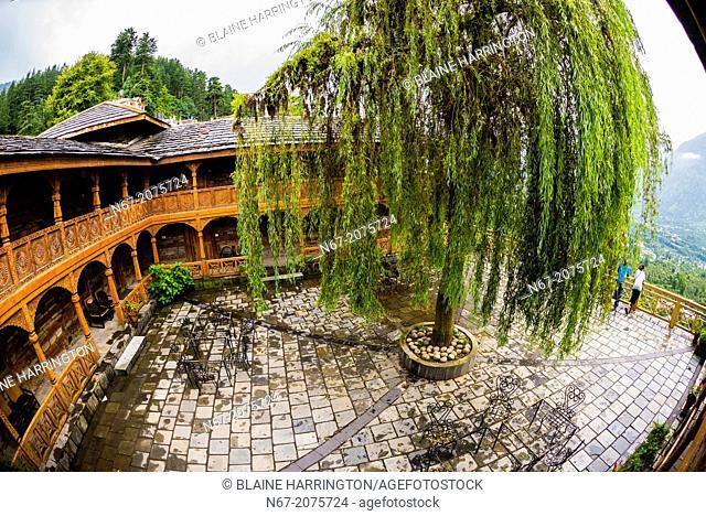 Hotel Castle Naggar, Naggar, near Manali, Himachal Pradesh, India