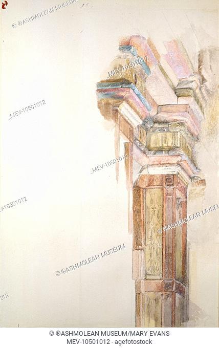 The Palazzo Gambacorti, Pisa, Italy. John Ruskin