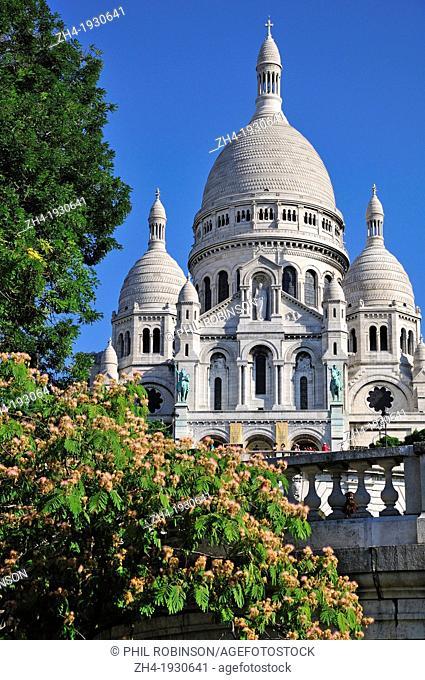 Paris, France. Sacre-Coeur