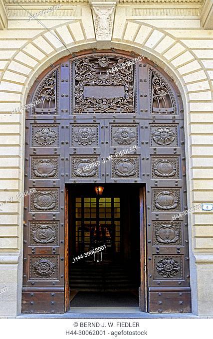 Europe, Italy, Veneto Veneto, Padua, Padova, via C flat ares Battisti, university, Palazzo Papafava dei Carraresi, input, architecture, building