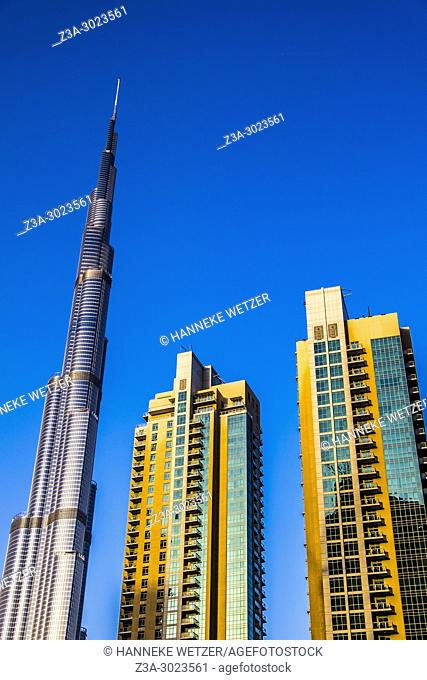 Burj Khalifa and Emaar Properties supertall skyscrapers in Dubai