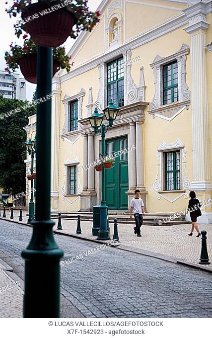 Santo Agostinho church, Macau, China