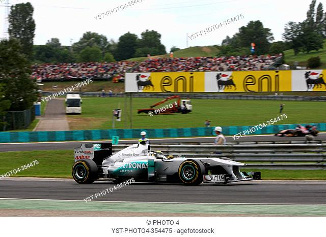 Nico Rosberg GER, Mercedes GP Petronas F1 Team, MGP W02