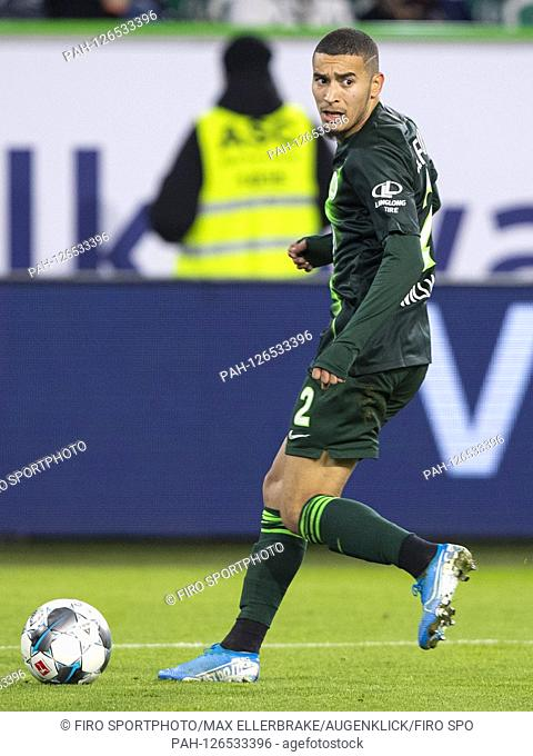 firo: 10.11.2019, Fuvuball, 1.Bundesliga, season 2019/2020, VfL Wolfsburg - Bayer 04 Leverkusen William (VfL Wolfsburg) single action | usage worldwide