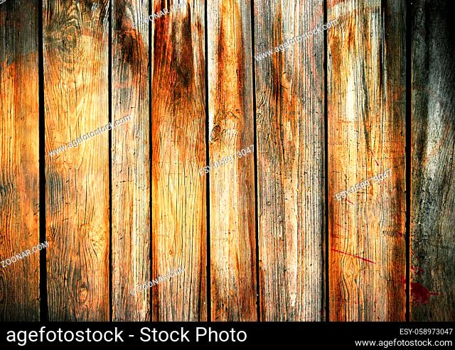 Vintage old wooden planks background. Old wood wall texture background