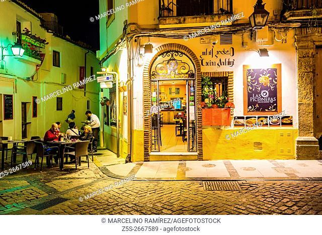 Las Piconeras, tavern. Córdoba, Andalusia, Spain, Europe