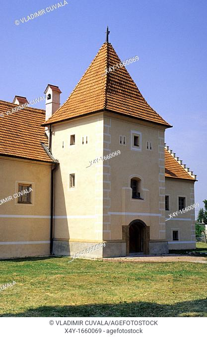 The manor house at Simonovany near Partizanske Slovakia from late gothic and early renaissance period