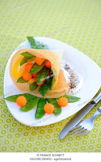 Vegetable parcel