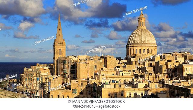 Ð¡armelite church, La Valletta, Malta