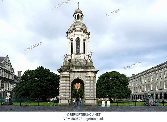 Dublin - 12 june 2016 City of Dublin Stad van Dublin Ville de Dublin University - Trinity colege Photo: JMQuinet/Reporters Reporters / QUINET