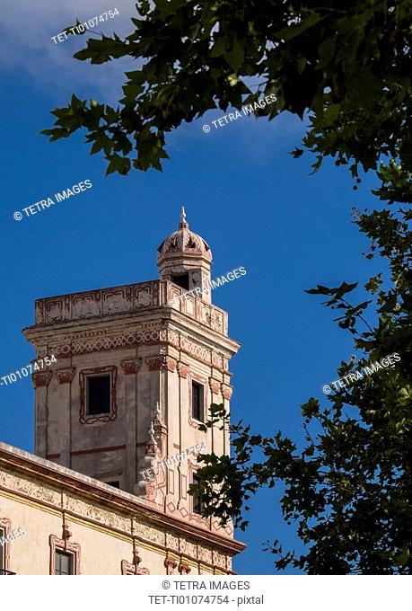 Watchtower exterior
