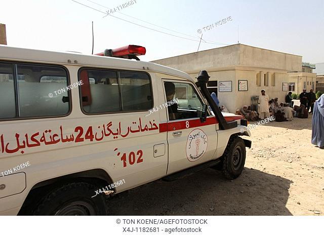 ambulance in Afghanistan