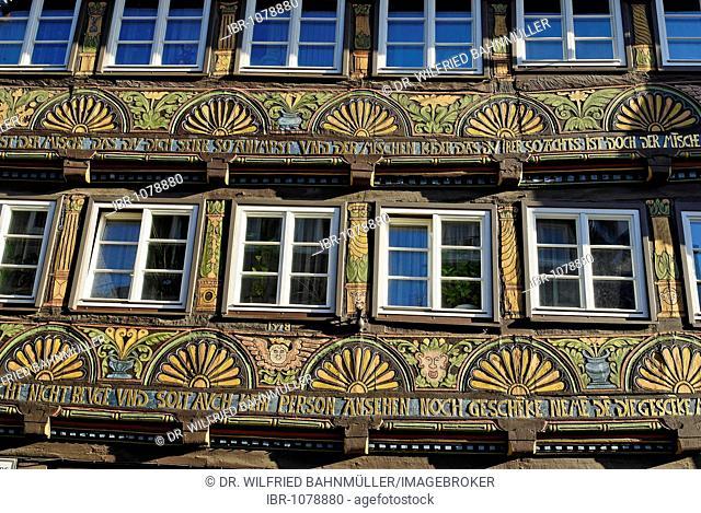 Litto House, Hoexter, North Rhine-Westphalia, Germany, Europe