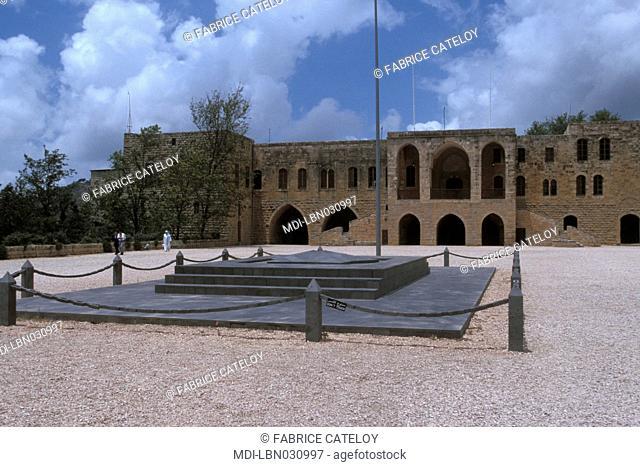 Dar El Baraniyyeh - Al Midan - Rectangular courtyard of the Emir Bechir palace