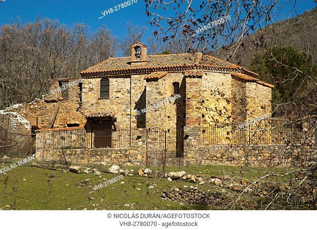 Hospital del Obispo, Navatrasierra, Las Villuercas, Los Ibores and La Jara geopark, Cáceres province, Extremadura, Spain