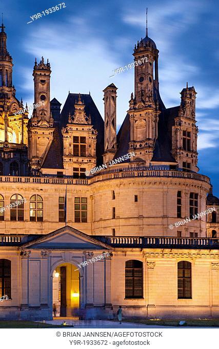 Chateau Chambord, Loire Valley, Centre France