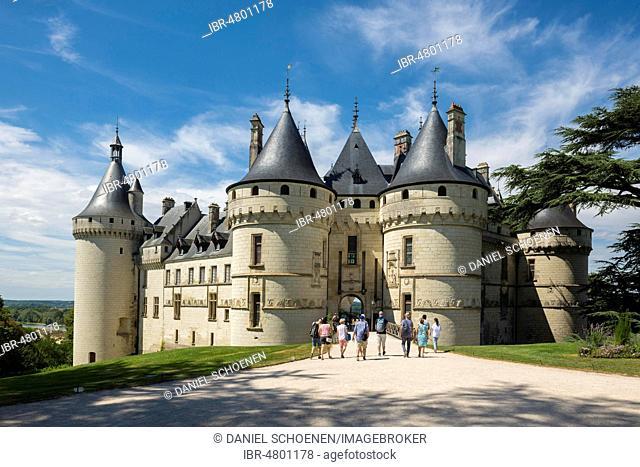 Chaumont Castle Château de Chaumont, Chaumont-sur-Loire, Loire, Département Loir-et-Cher, France