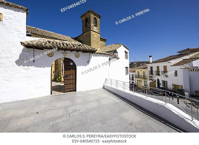 Church of San Juan in Alcala la Real in Andalucia in southern Spain