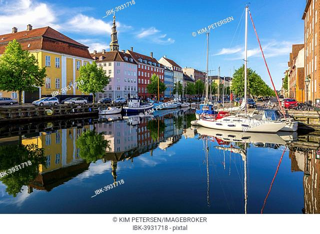 Christianhavns Canal, Christianshavn, Copenhagen, Capital Region of Denmark, Denmark