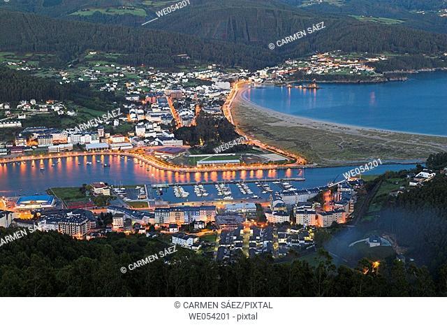 Ria of Viveiro. Lugo province, Galicia, Spain