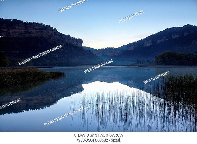 Spain, Serrania de Cuena Natural Park, Laguna de Una