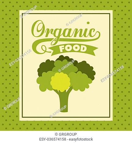 farm fresh food design, vector illustration eps10 graphic