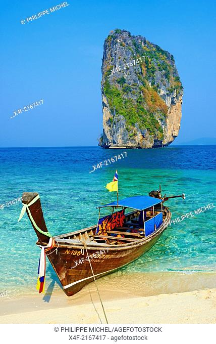 Thailand, Krabi province, Ko Poda island