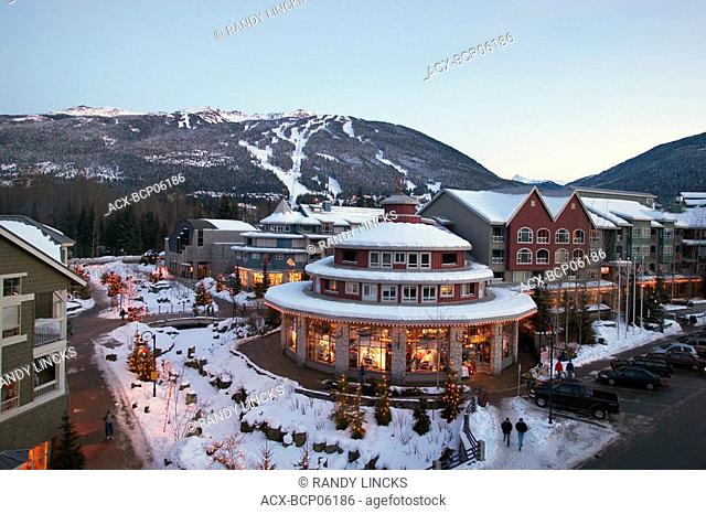 Whistler Creekside at Whistler, British Columbia, Canada