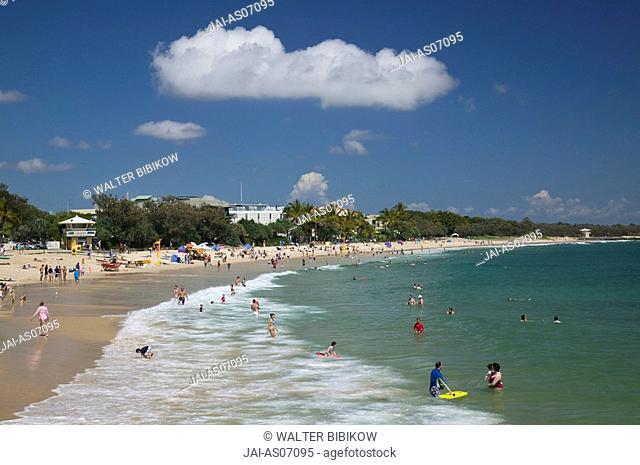 Australia, Queensland, Sunshine Coast, Noosa Heads, Noosa Main Beach