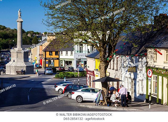 Ireland, County Mayo, Westport, town view of the Octagon