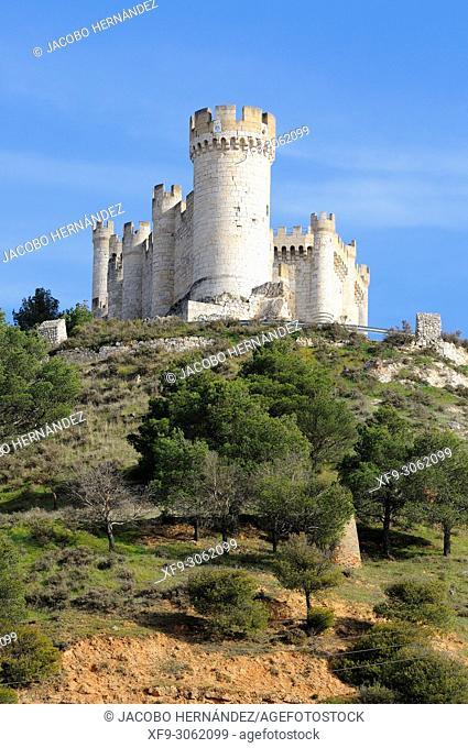 Castle of Peñafiel. Valladolid province. Castilla y León. Spain