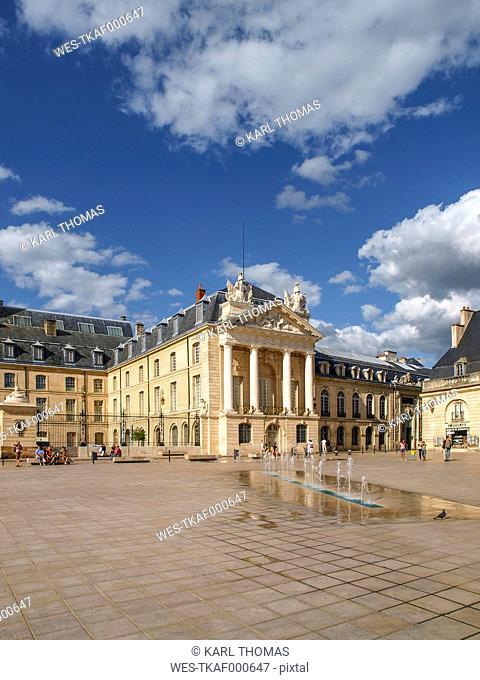 France, Cote-d'Or, Dijon, Place de la Liberation, Palace of the Dukes of Burgundy