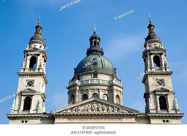 St Stephen's Basilica Or Szent István-Bazilika, Budapest, Hungary
