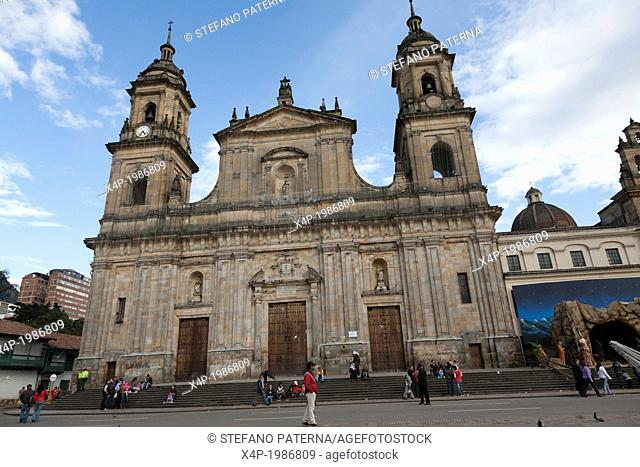 The Catedral, Plaza Bolivar, La Candelaria, Bogota, Colombia