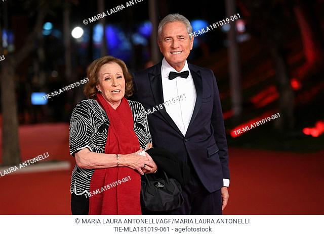 Francesco Rutelli during the red carpet of film Motherless Brooklyn at the 14th Rome Film Festival, Rome, ITALY-17-10-2019