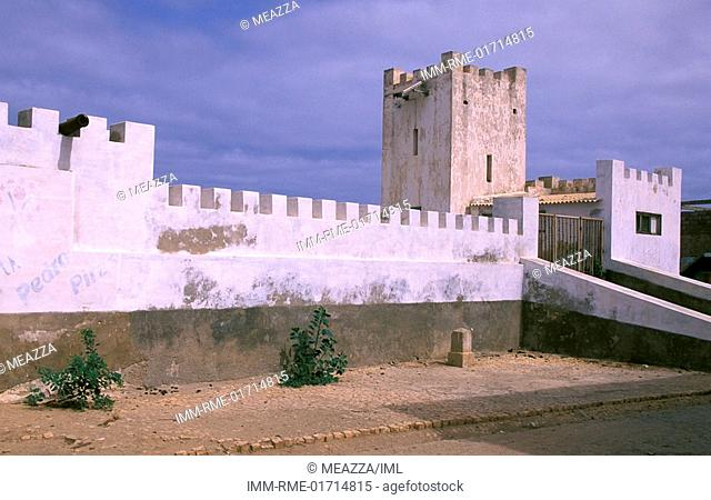 Vila do Maio, Portuguese Fortress, Maio Island, Cape Verde, Africa