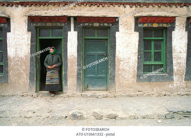 Tibet - winter 1993