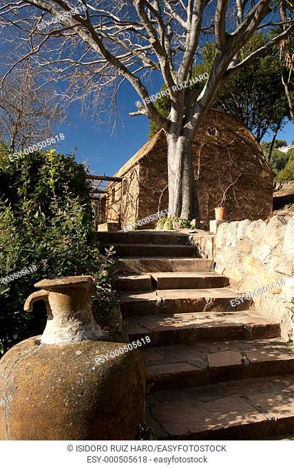 Jardín Tropical Botánico de Pinya de Rosa  Blanes Costa Brava  Girona  Catalunya  España