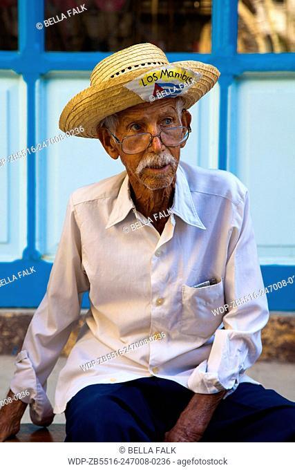 Old man, Havana, Cuba