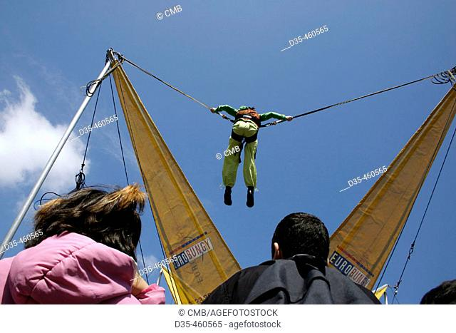 Bungee jumping for kids