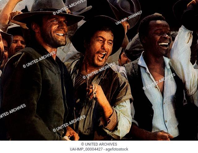 Vier für ein Ave Maria, (I QUATTRO DELL'AVE MARIA) IT 1968, Regie: Giuseppe Collizi, TERENCE HILL, ELI WALLACH, Stichwort: Freude, Lachen, Männerfreundschaft