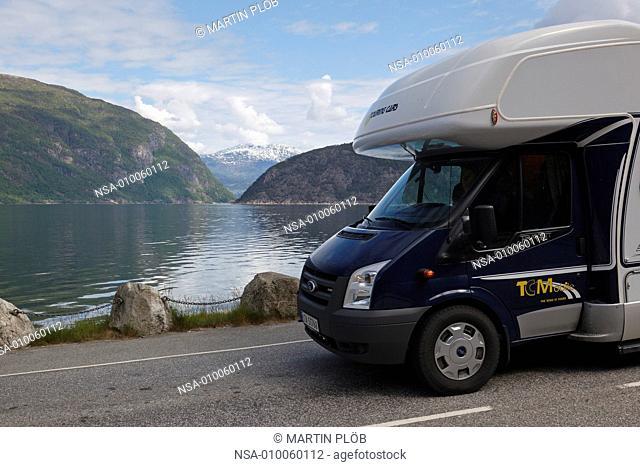 camper at Eidfjord