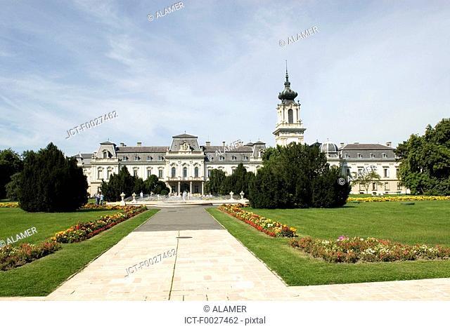 Hungary, Keszthely, Festetics Castle