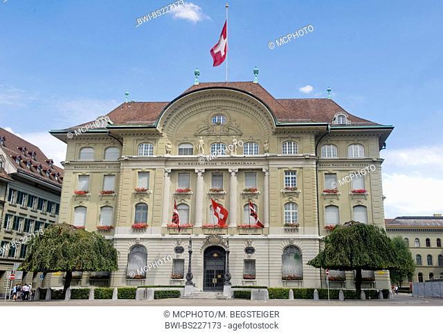 Swiss national bank, Switzerland, Berne, Berne