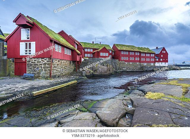 Tinganes, Tórshavn old town, Streymoy, Faroe Islands, Denmark, Europe