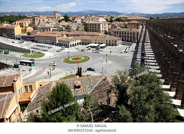 The aqueduct of Segovia is dated between the 2nd half of the 1st Century AD and the early years of the 2nd Century, during the reign of either Emperor Vespasian...