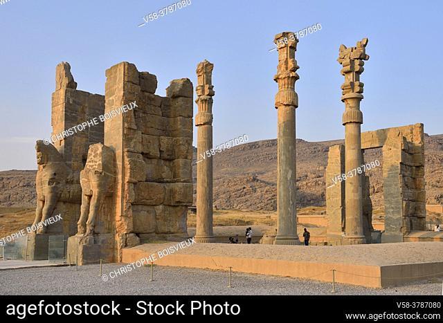 Iran, Persepolis, Unesco World Heritage Site, Persepolis,